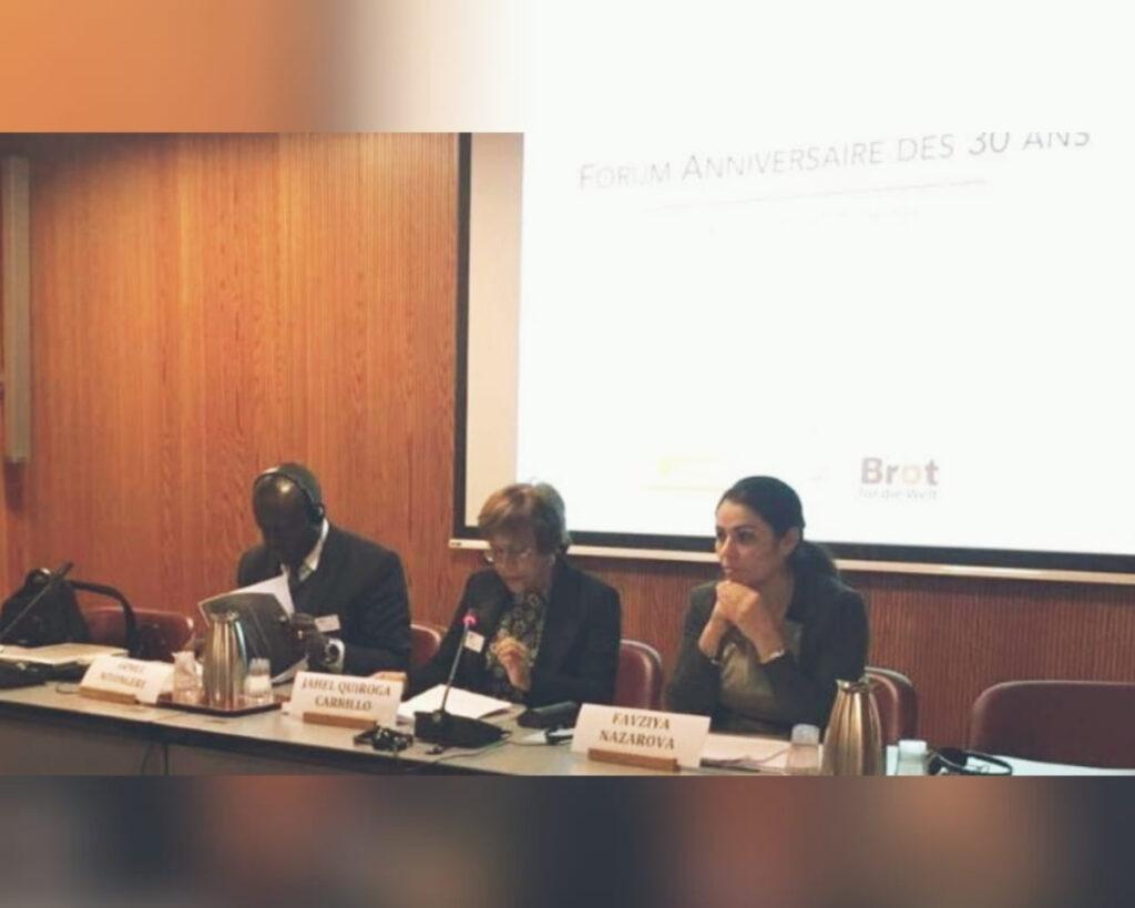 Se conmemoran en Suiza 30 años de trabajo de la OMCT contra la tortura