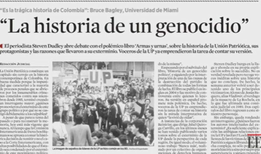 La historia de un genocidio